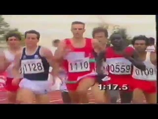1990 Commonwealth Games Mens 800m Final