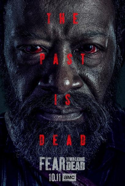Постер шестого сезона «Бойтесь ходячих мертвецов»