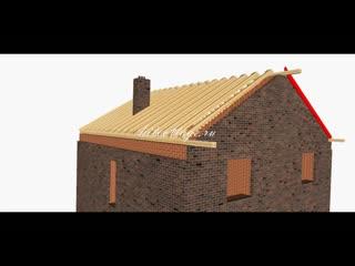 Инструкция по строительству крыши