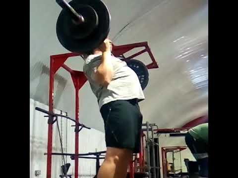 Barbell Curl Press 81.35kg 179.3lb