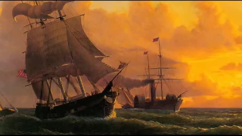 35 Вильям Брэдфорд Сказка о кораблике Всемирная картинная галерея Уроки тетушки Совы