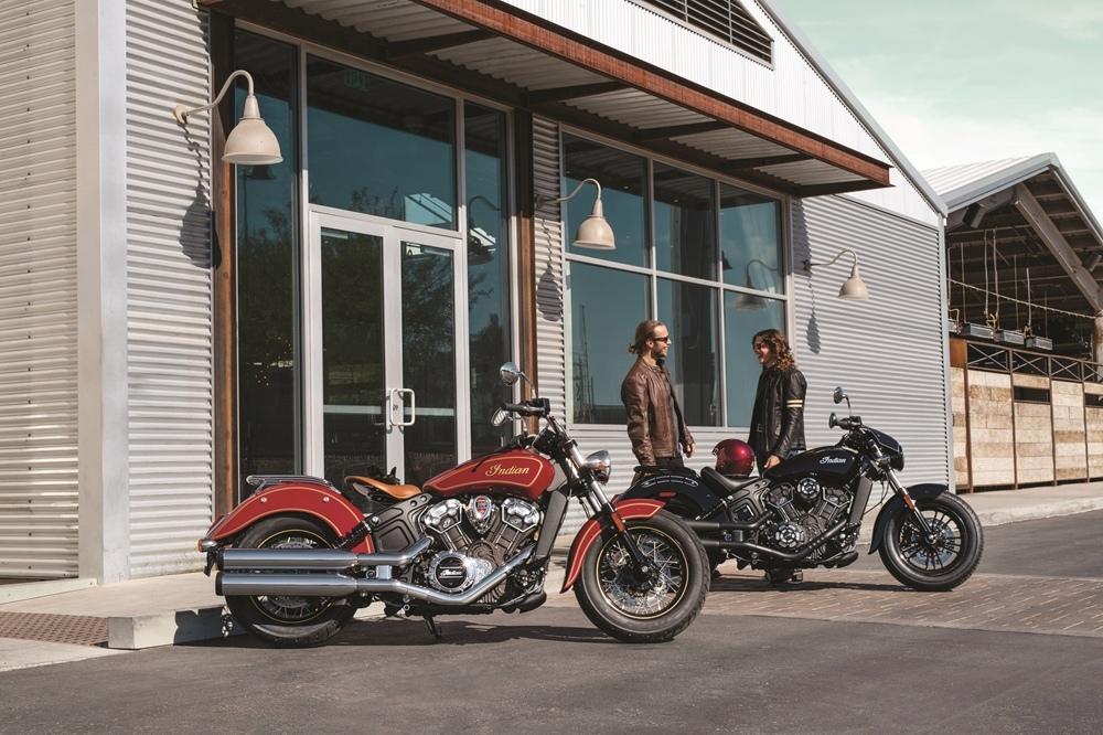 Фотографии мотоциклов Indian Scout 2020