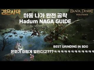 [ENG SUB]검은사막(BDO) - 하둠나가 공략 Hadum NAGA GUIDE