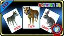 Дикие животные Как говорят Животные УЧИМ ЖИВОТНЫХ Развивающие мультики для детей Монтессори