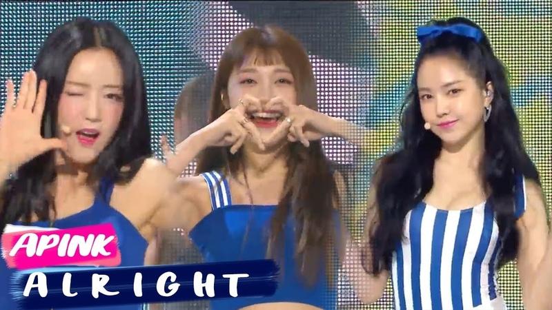 [Comeback Stage][쇼음악중심]Apink - A L R I G H T , 에이핑크 - A L R I G H T Show Music core 20180707