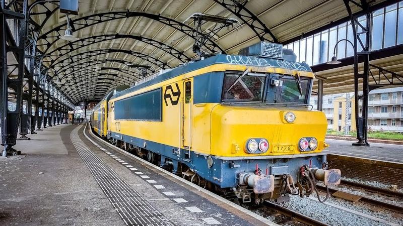 4K Cab Ride NL Haarlem - Alkmaar - Haarlem IC 3456 17-05-2019