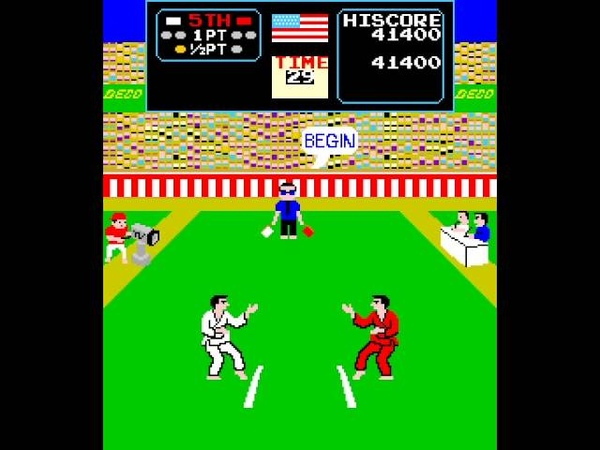 Arcade Longplay 606 Karate Champ