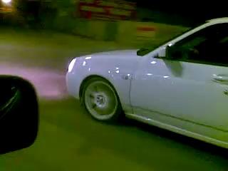 Lada Priora vs Mercedes C4.3 AMG