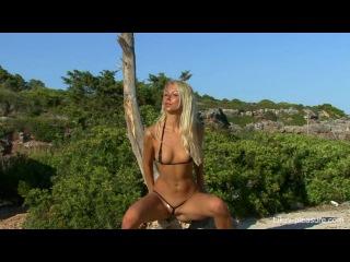 Shiny Lycra Helen Bikini-Pleasure -  Lea Tyron - Little Hill I.