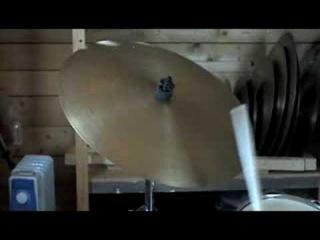 "Avedis Zildjian Flat Ride (2 rivets) 18"" 1970's"