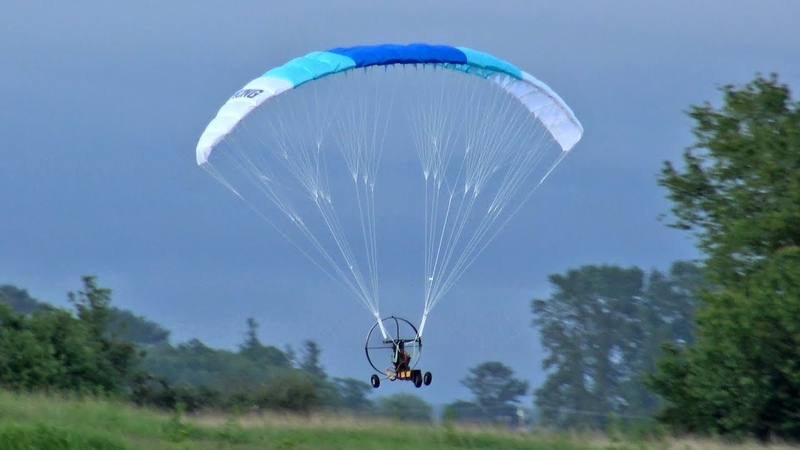 Unedited H King Paramotor Maiden Flight Review Hobbyking PPG