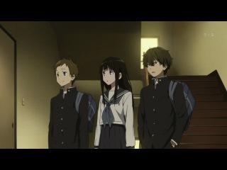 Hyouka / Хёка: тебе не уйти 1 серия [Ancord & Shina]