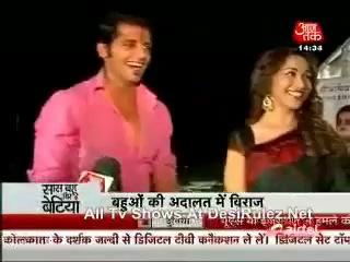 Звезды сериала  'Dil Se Di Dua - Saubhagyavati Bhava' на встрече с Мадхури!!!