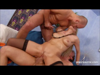 Private natalli di angelo lena cova's first gangbang