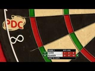 Jamie Caven vs Jelle Klaasen (PDC World Darts Championship 2014 / Round 1)
