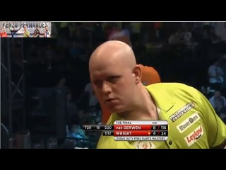 Michael van Gerwen vs Peter Wright (2014 Dubai Duty Free Darts Masters / Final)