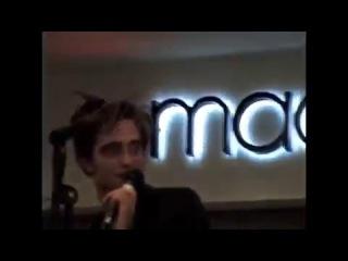 Роберт на Orland Square Mall Chicago Q&A (12.11.08)