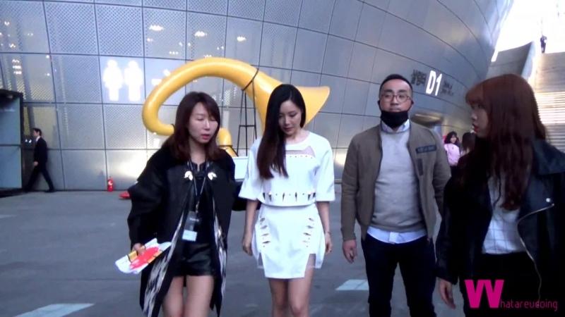 Фанкам 150322 Мирё @ YOHANIX Seoul F week
