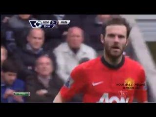 Ньюкастл 0– 4 Манчестер Юнайтед