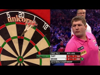 John Part vs Keegan Brown (PDC World Darts Championship 2015 / Round 1)