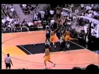 17 Year Old Kobe Bryant's 1st Pro Game as a Los Angeles Lakers