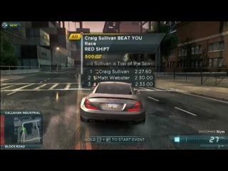 NFS Most Wanted 2012 Gameplay - EA's Gamescom Press Conference 2012