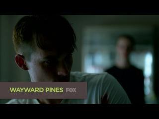 Седьмой сник-пик шестой серии второго сезона сериала Wayward Pines (Уэйуорд Пайнс / Сосны)