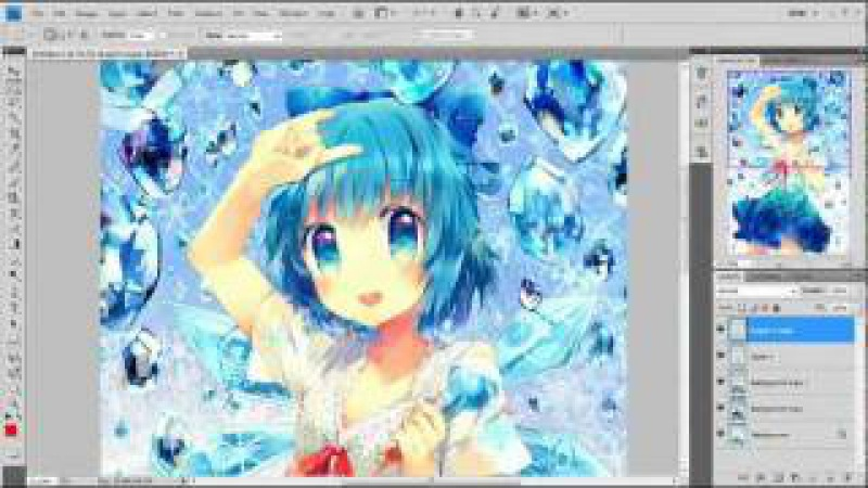 Lets CG draw Cirn⑨