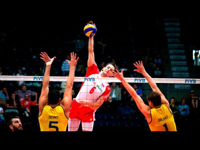 Bartosz Kurek The King Of Warm-up   3rd meter spike   Volleyball » Freewka.com - Смотреть онлайн в хорощем качестве