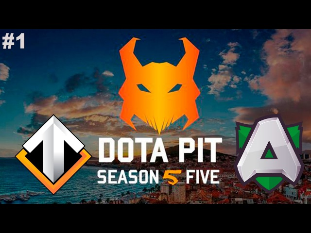 Escape vs Alliance 1 DotaPit Season 5 Dota 2