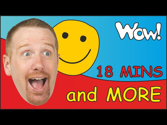 How Are You Kids? MORE | English funny Stories for Children with Steve and Maggie | Feelings Song