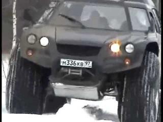 WayaLife 4x4 Extreme AMPHIBIOUS Russian offroad vehicle  Aton-Impulse VIKING-2992