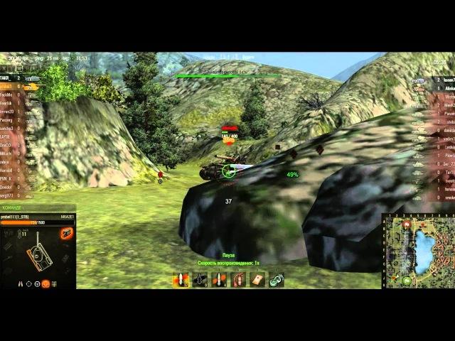 Видеогайд по танку М6А2Е1 Карты Ласвиль и Тихий берег