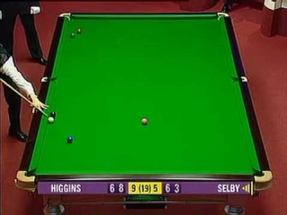 John Higgins Teaches Mark Selby How To Snooker - 2005 WSC