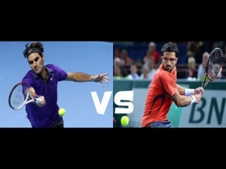 Barclays ATP World Tour Finals 2012. Группа В. Роджер Федерер - Янко Типсаревич