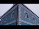 Фасады частного дома утеплёны минеральной ватой материалами и по технологии Ceresit