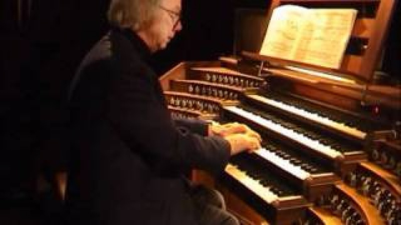 Lionel Rogg plays... J.S. Bach - Fantasia in G minor BWV 542
