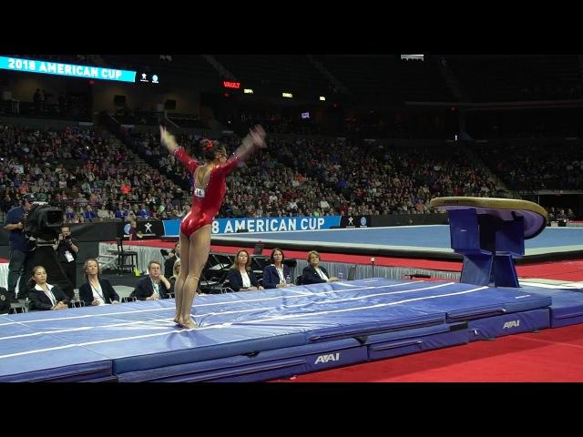 Morgan Hurd USA Vault 2018 American Cup