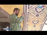 Российские художники-иконописцы расписывают Аланский Свято-Успенский мужской монастырь