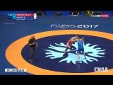 Чемпионат Мира по борьбе 2017 Финалы Мужчины вольная борьба 25 августа 2017 H. Yazdanichara vs B.Makoev