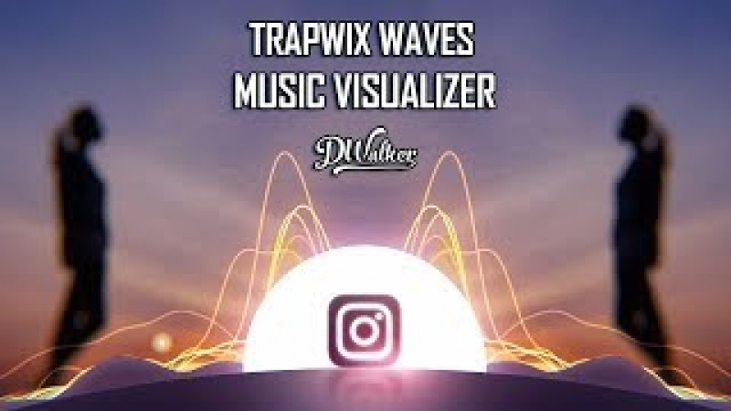 Music Visualizer After Effects Template | Audio React TrapWix Waves