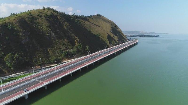 Kunming Ring Expressway昆明环湖南路古城1号大桥