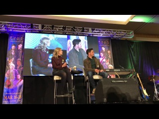 Colin O'Donoghue and Rose Reynolds OUAT Vancouver 2018 Gold Panel Part 1