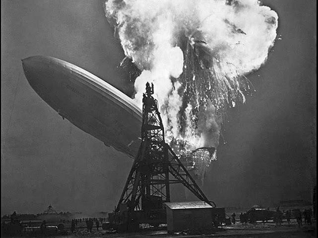 1937г. - Катастрофа германского дирижабля LZ-129 Гинденбург