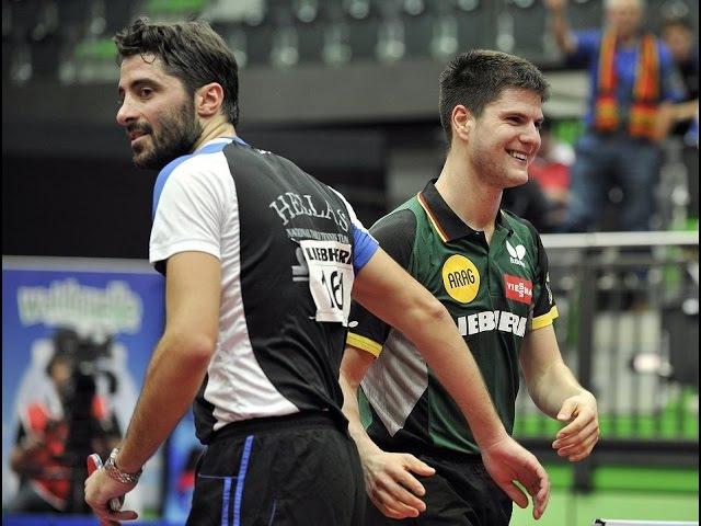 Dimitrij Ovtcharov vs Gionis Panagiotis ETTC 2015