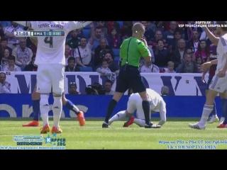 Реал Мадрид - Эйбар, 1-0, гол Роналду со штрафного