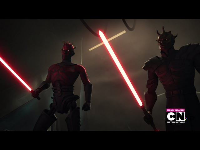 Darth Maul Savage Opress VS Obi Wan Adi Gallia