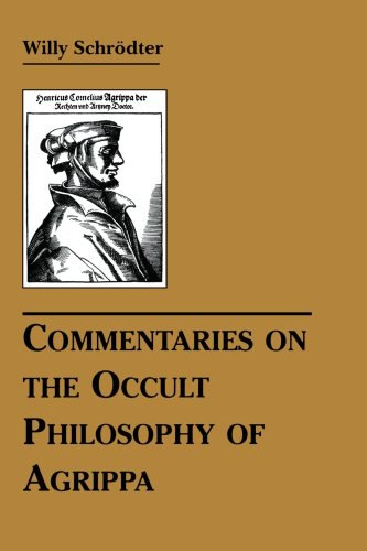 Willy Schrodter-Commentaries on the Occult Philosophy of Agrippa-RedWheel   Weiser (2008)