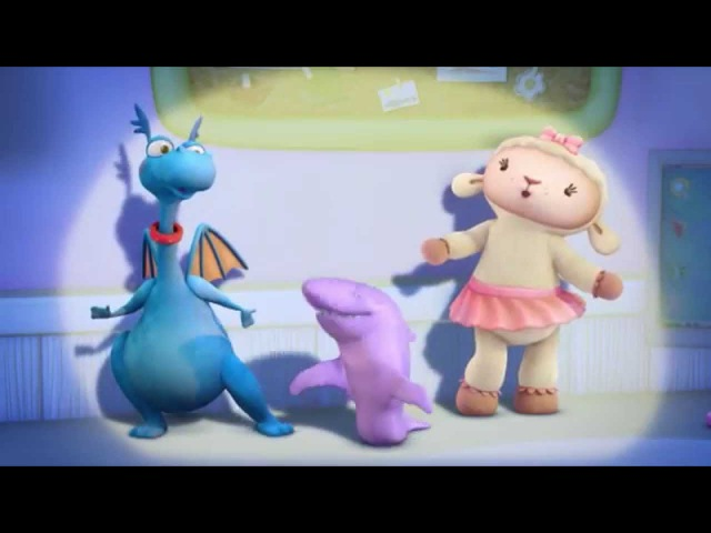 Доктор Плюшева День Рождения Хэлли И у акул болят зубы Серия 22 Сезон 1