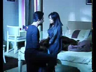 Astha and Shlok on sets of iss pyar ko kya naam doon